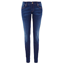 Buy BOSS Orange Lunja Slim Jeans, Navy Online at johnlewis.com