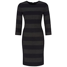 Buy Oui Striped Shift Dress, Dark Blue Stripe Online at johnlewis.com