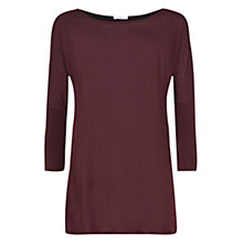 Buy Charli Kestrel Knit, Black Plum/Black Cupro Online at johnlewis.com