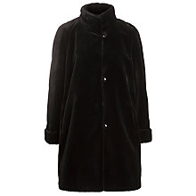 Buy Basler Faux Fur Coat, Black Online at johnlewis.com