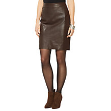 Buy Lauren Ralph Lauren Tannina Skirt, Pike Brown Online at johnlewis.com