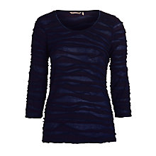 Buy Sandwich Faux Wrap Jersey Top, Nightfall Online at johnlewis.com