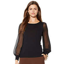 Buy Lauren Ralph Lauren Brinsing Top, Black Online at johnlewis.com