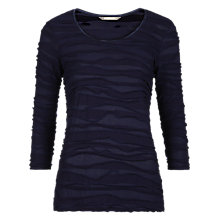 Buy Sandwich Ribbed Jersey Top, Nightfall Online at johnlewis.com