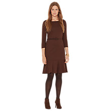 Buy Lauren Ralph Lauren Kandence Dress, Dark Hemp/Pike Online at johnlewis.com