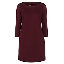 Buy Sandwich Wool-blend Knit Dress, Dark Berry Online at johnlewis.com