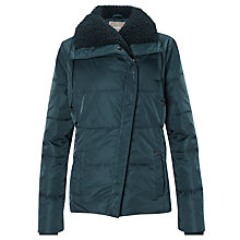 Buy Sandwich Padded Nylon Coat, Dark Petrol Online at johnlewis.com