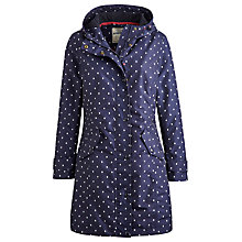 Buy Joules Windermere Waterproof Jacket, Navy Spot Online at johnlewis.com