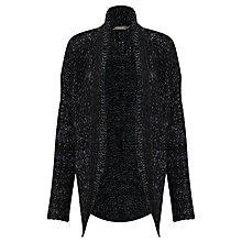 Buy Sandwich Boucle Cardigan, Dark Petrol Online at johnlewis.com