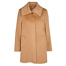 Buy Basler Oversize Collar Coat, Camel Online at johnlewis.com