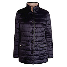 Buy Basler Reversible Coat, Navy/Cream Online at johnlewis.com