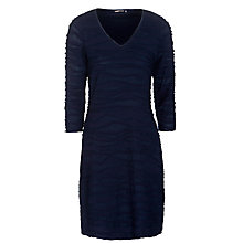Buy Sandwich Rib Jersey Dress, Nightfall Online at johnlewis.com