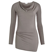 Buy Charli Angel Long-sleeve Top, Graphite Online at johnlewis.com