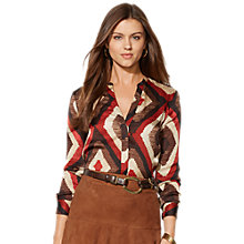 Buy Lauren by Ralph Lauren Brynnick Tunic, Multi Online at johnlewis.com