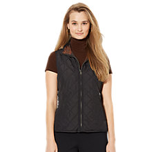 Buy Lauren Ralph Lauren Eiryls Reversible Vest, Brown Multi Online at johnlewis.com