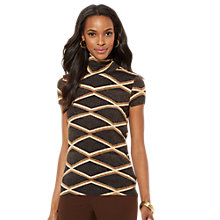 Buy Lauren Ralph Lauren Dena Jersey Top, Multi Online at johnlewis.com