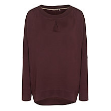 Buy Sandwich Lightweight Sweat Top, Dark Berry Online at johnlewis.com