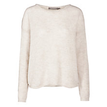 Buy Sandwich Wool-blend Jumper, Mushroom Online at johnlewis.com