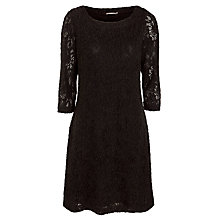 Buy Sandwich Crochet Dress, Black Online at johnlewis.com