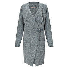 Buy Sandwich Boucle Cardigan, Basalt Grey Online at johnlewis.com