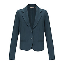 Buy Sandwich Jersey Blazer, Dark Petrol Online at johnlewis.com