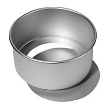 Buy Silverwood Satin Anodised Loose Base Cake Tin Online at johnlewis.com