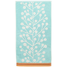 Buy Scion Berry Tree Towels, Aqua Online at johnlewis.com