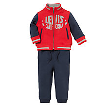 Buy Levi's Baby's Sweat Jacket and Joggers, 2 Piece, Multi Online at johnlewis.com