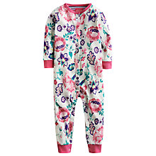 Buy Baby Joule Floral Freda Sleepsuit, Multi Online at johnlewis.com