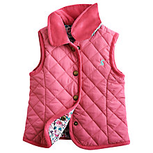 Buy Baby Joule Jilly Gilet, Pink Online at johnlewis.com