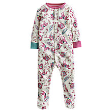 Buy Little Joule Horse Razmataz Babygrow, Cream/Multi Online at johnlewis.com