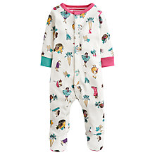 Buy Baby Joule Harvest Razmataz Sleepsuit, White/Multi Online at johnlewis.com