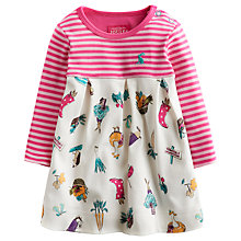 Buy Baby Joule Girls' Hayley Harvest Print Dress, Multi Online at johnlewis.com