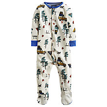Buy Baby Joule Camping Ziggy Bodysuit, Cream/White Online at johnlewis.com