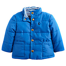 Buy Baby Joule Marland Quilted Jacket, Blue Online at johnlewis.com