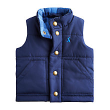 Buy Little Joule Jake Gilet, Navy Online at johnlewis.com