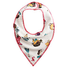 Buy Baby Joule Harvest Baby Bib, One Size, Multi Online at johnlewis.com