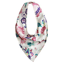 Buy Baby Joule Floral Bloom Baby Bib, Multi Online at johnlewis.com