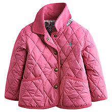 Buy Baby Joule Mable Quilt Jacket, Pink Online at johnlewis.com