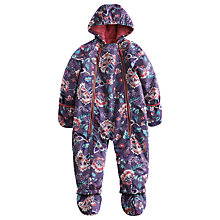 Buy Baby Joule Floral Everly Snowsuit, Multi Online at johnlewis.com