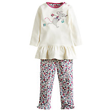 Buy Baby Joule Poppy Mouse Top & Legging, Cream/Multi Online at johnlewis.com