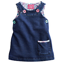 Buy Baby Joule Denim Suzie Dress, Blue Online at johnlewis.com