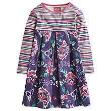 Buy Baby Joule Hayley Stripe & Floral Dress, Multi Online at johnlewis.com