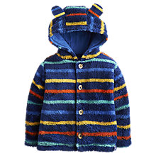 Buy Baby Joule Albury Stripe Fleece, Blue/Multi Online at johnlewis.com