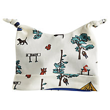 Buy Baby Joule Camping Hat, Cream/Multi Online at johnlewis.com
