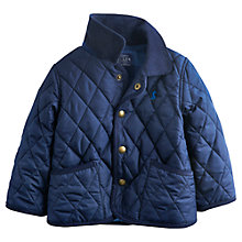 Buy Baby Joule Quilt Milford Jacket, Navy Online at johnlewis.com