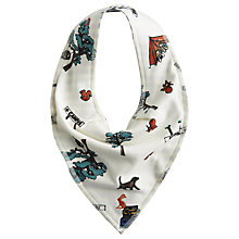 Buy Baby Joule Camping Bib, Cream/Multi Online at johnlewis.com