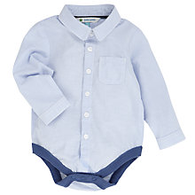 Buy John Lewis Ticking Stripe Body Shirt, Blue Online at johnlewis.com