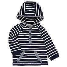 Buy John Lewis Striped Hoody, Navy/White Online at johnlewis.com