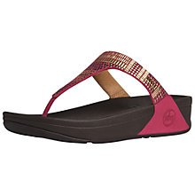 Buy FitFlop Aztec Chada Flip Flops Online at johnlewis.com